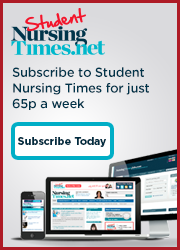 Subscribe to student Nursing Times