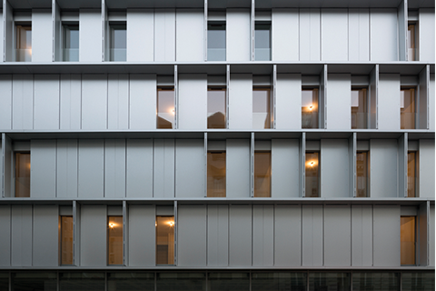 Housing Completed Buildings: Babin+Renaud, Aluminium, France