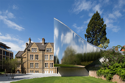 Higher Education and Research - Completed Building Category Winner: Zaha Hadid Architects, Investcorp Building for Oxford University, UK