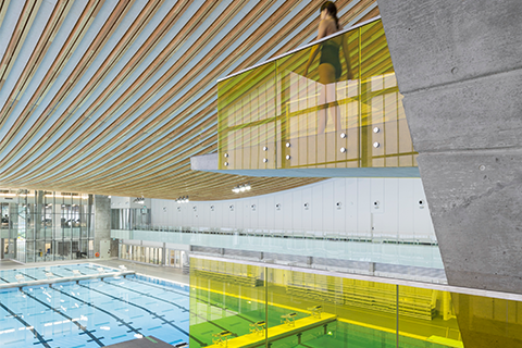 Sport - Completed Building: HCMA Architecture + Design, Grandview Heights Aquatic Centre, Surrey, Canada