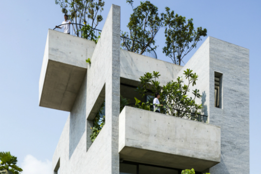 House - Completed Buildings Winner: Vo Trong Nghia Architects, Binh House, Ho Chi Minh City, Vietnam