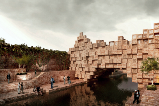 Infrasructure - Future Projects Winner: Sanjay Puri Architects, The Bridge, Ras, India