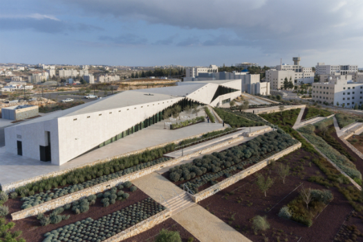 Culture - Completed Buildings Winner: Heneghan Peng Architects, The Palestinian Museum, Birzeit, Palestine