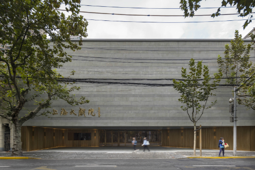 Culture - Completed Buildings Highly Commended: Neri&Hu Design and Research Office, New Shanghai Theatre, Shanghai, China
