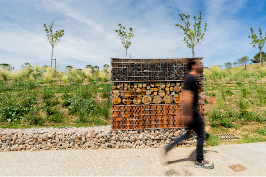 Display - Completed Buildings Highly Commended: Batlle i Roig Arquitectura, Insect Hotel, El Masnou, Barcelona, Spain