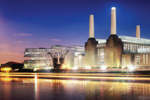 Commercial Mixed Use - Future Projects Winner supported by Miele: WilkinsonEyre, Battersea Power Station Phase 2, London, United Kingdom
