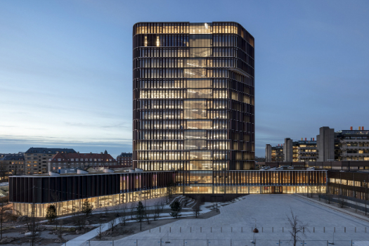 Higher Education & Research - Completed Buildings Winner: C.F. Møller Architects, Maersk Tower, Copenhagen, Denmark