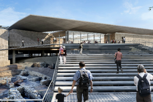Competition Entries - Future Projects Winner: Pilbrow & Partners, New Cyprus Archaeological Museum, Nicosia, Cyprus