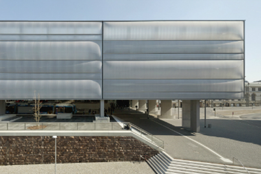 Transport - Completed Buildings Winner: Grüntuch Ernst Architects, Transformation Chemnitz Central Station, Chemnitz, Germany