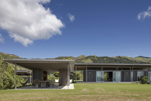 Villa - Completed Buildings Winner: Irving Smith Architects, Bach with Two Roofs, Golden Bay, New Zealand